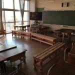 ベンチのある教室の2学期おわる!