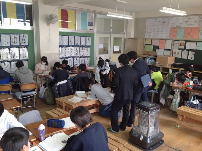 東京学芸大学教職大学院の皆さんが来訪