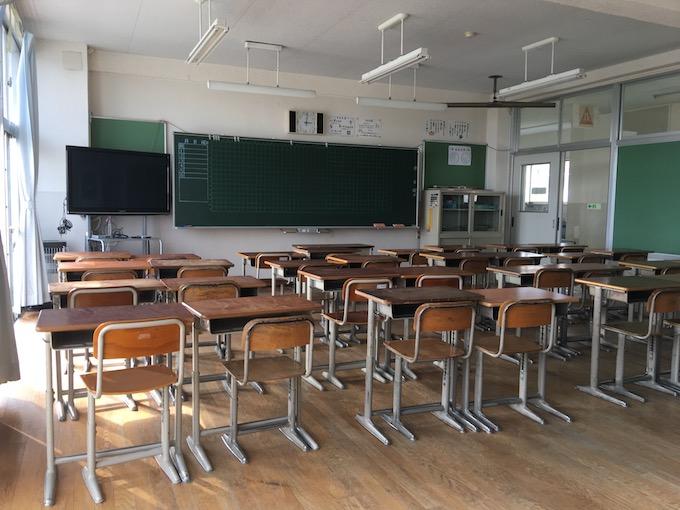 最後の最後まで共に過ごす教室