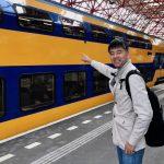 白い大地を越えて無事にオランダへ到着した話
