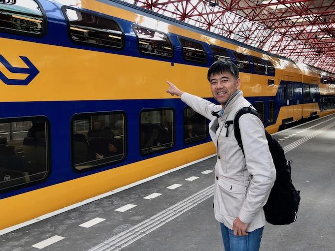 オランダの列車