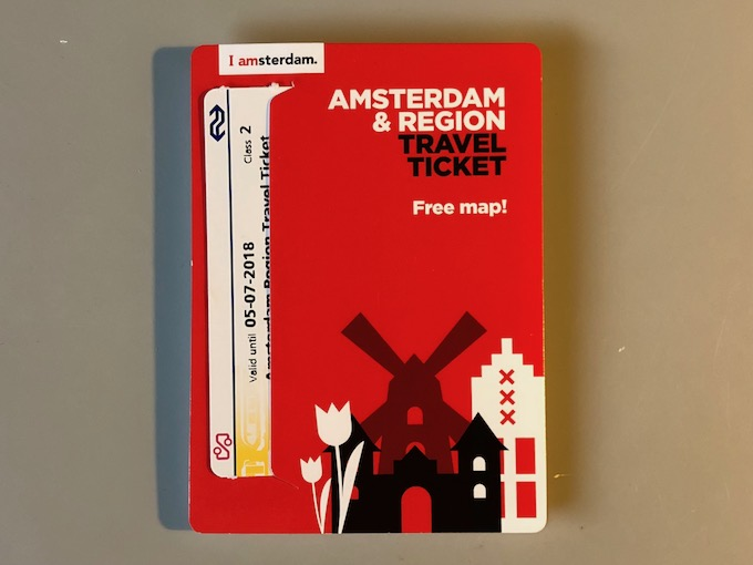 Amsterdam &Region Travel Ticket