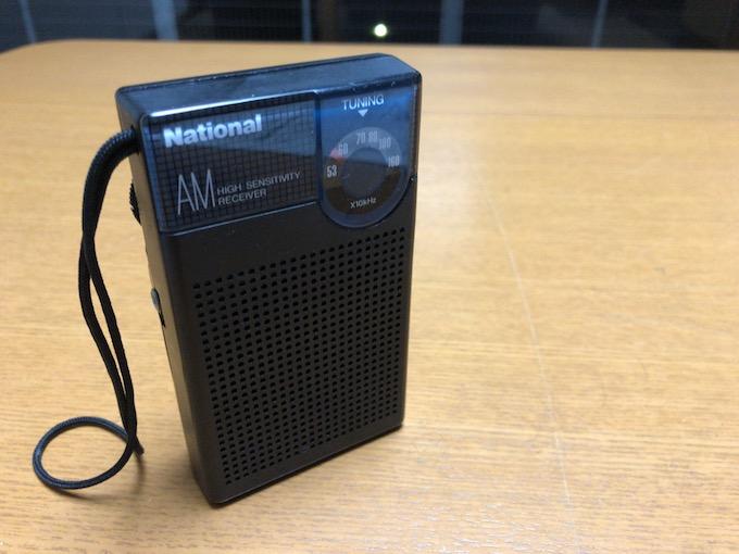 ラジオのある暮らし