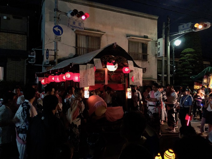 佐久穂の祇園祭