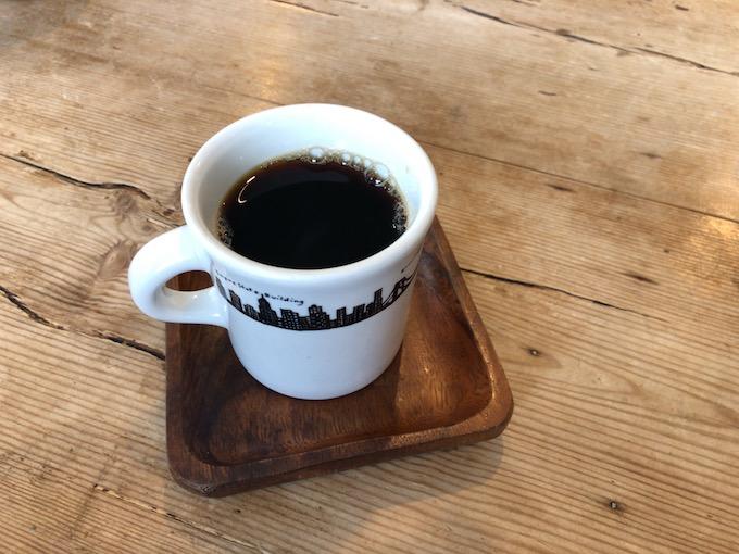 素直にコーヒーを飲んでみる