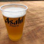 ひとつのボールと一杯のビール