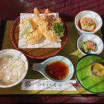 佐久穂町役場近くで和食をいただく