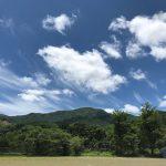 梅雨の晴れ間と竹とんぼ