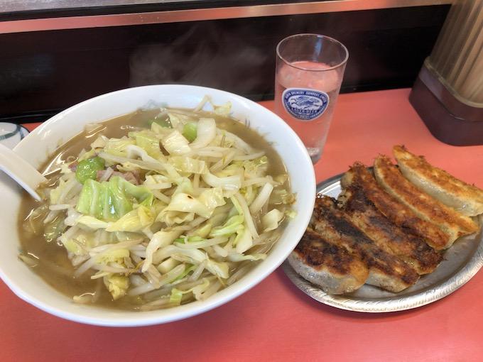 下仁田 一番 タンメンと餃子