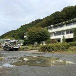 台風19号・昨夜からの雨で臨時休校