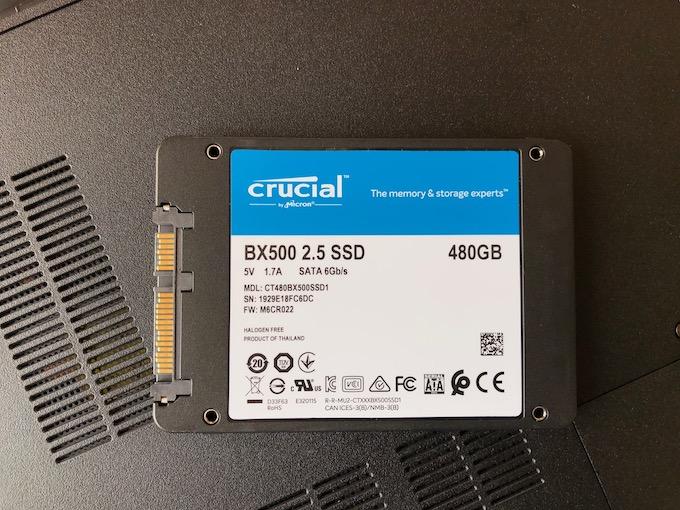 Crucial SSD 内蔵2.5インチ SATA接続 BX500 シリーズ 480GB 国内正規代理店品