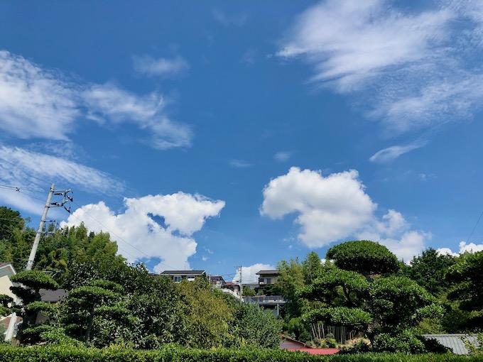 ウルトラ世代と夏の空
