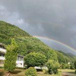 素敵な虹と自分と向き合う苦しみと