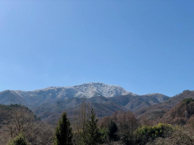 春に向かう茂来山