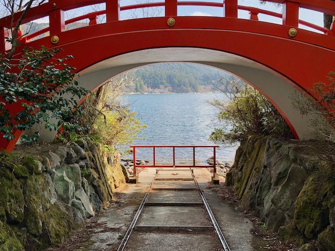 箱根神社船庫